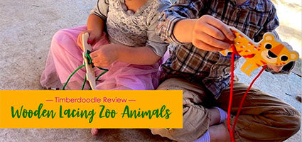 Wooden Lacing Zoo Animals Review by Flanders Family Homelife