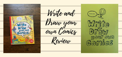 Write and Draw Your Own Comics Review by Cummins Life