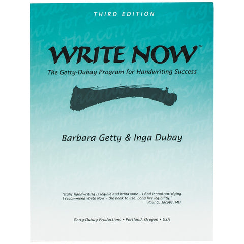 Write Now by Getty-Dubay