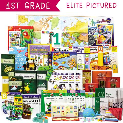 Non-Religious 2018 First-Grade Curriculum Kit Customizer