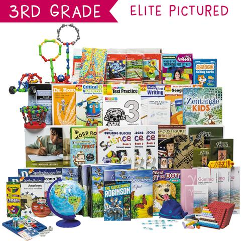 Non-Religious 2018 Third-Grade Curriculum Kit Customizer (Overflow)