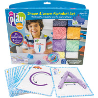 closeout Playfoam Shape & Learn Alphabet Set