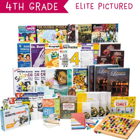 Non-Religious 2018 Fourth-Grade Curriculum Kit Customizer