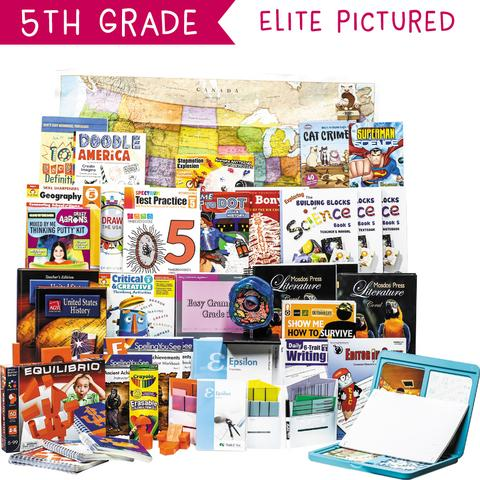 Non-Religious 2018 Fifth-Grade Curriculum Kit Customizer