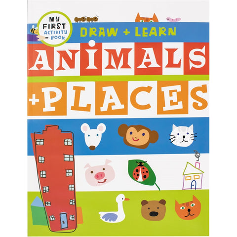 Draw and Learn Animals & Places
