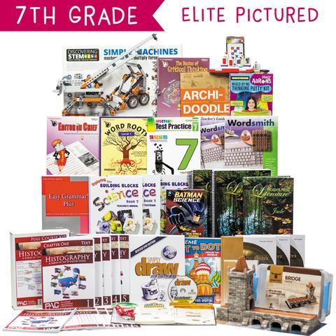 Non-Religious 2018 Seventh-Grade Curriculum Kit Customizer