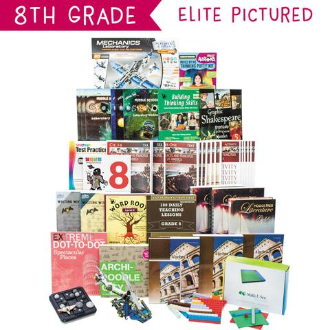 Non-Religious 2018 Eighth-Grade Curriculum Kit Customizer (Overflow)