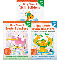 Gakken Play Smart Workbooks set of 3