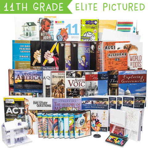 Eleventh Grade Curriculum Kit Customizer (Overflow)