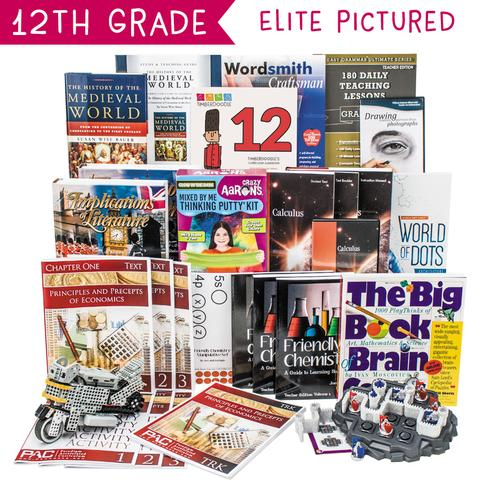 Non-Religious 2018 Twelfth-Grade Curriculum Kit Customizer