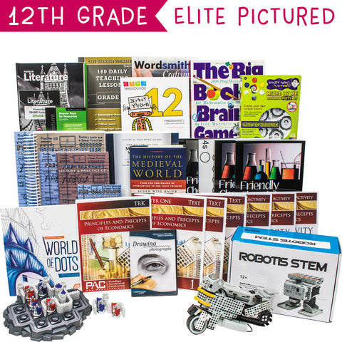 Twelfth Grade Secular Curriculum Kit Customizer (Overflow)