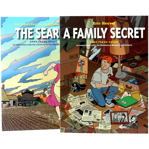The Search and A Family Secret Graphic Novels