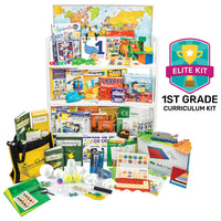 Nonreligious 2020 First-Grade Curriculum Kit
