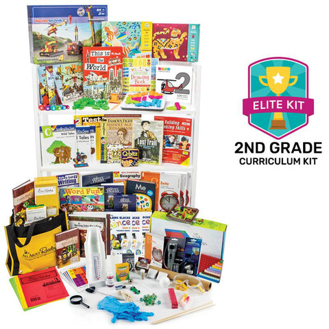 Nonreligious 2020 Second-Grade Curriculum Kit