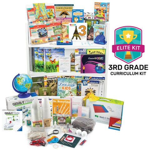 Nonreligious 2020 Third-Grade Curriculum Kit
