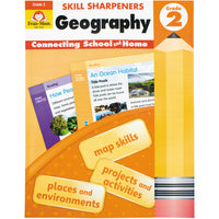 Skill Sharpeners Geography - Grade 2