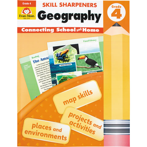 Skill Sharpeners Geography - Grade 4