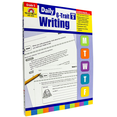 Daily 6-Trait Writing Grade 5