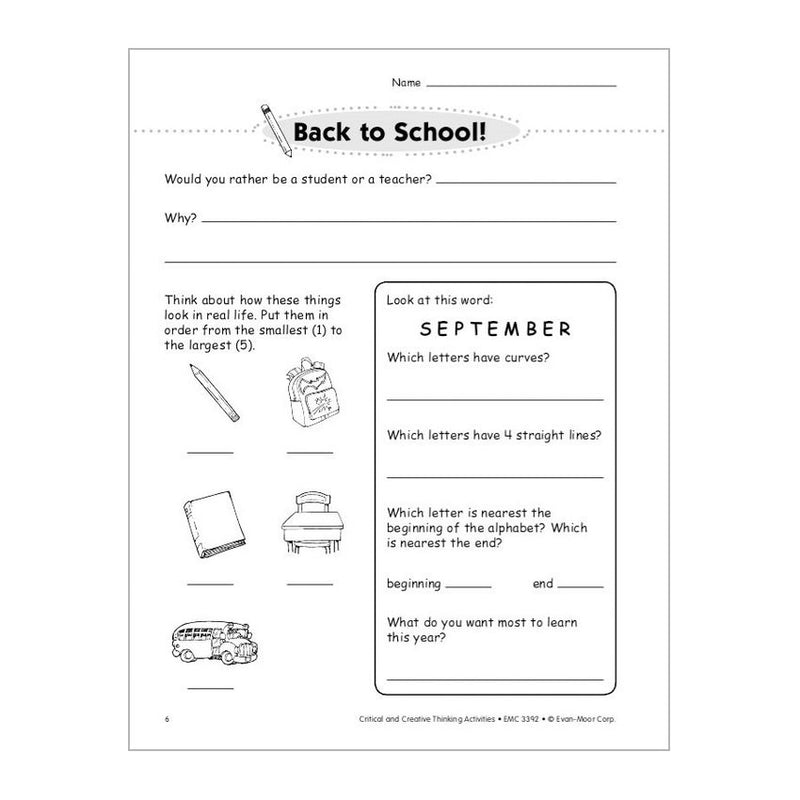 critical thinking activities for middle school pdf