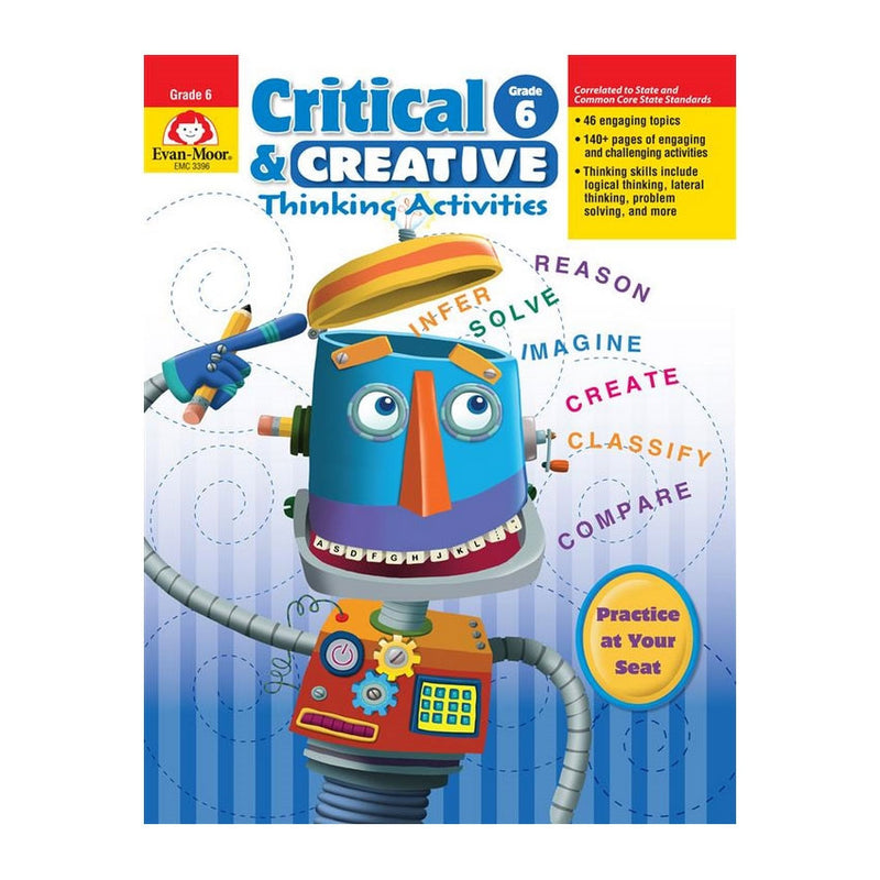Spectrum Critical Thinking for Math            Details   Rainbow