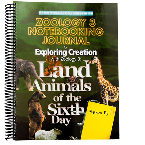 Zoology 3 Notebooking Journal
