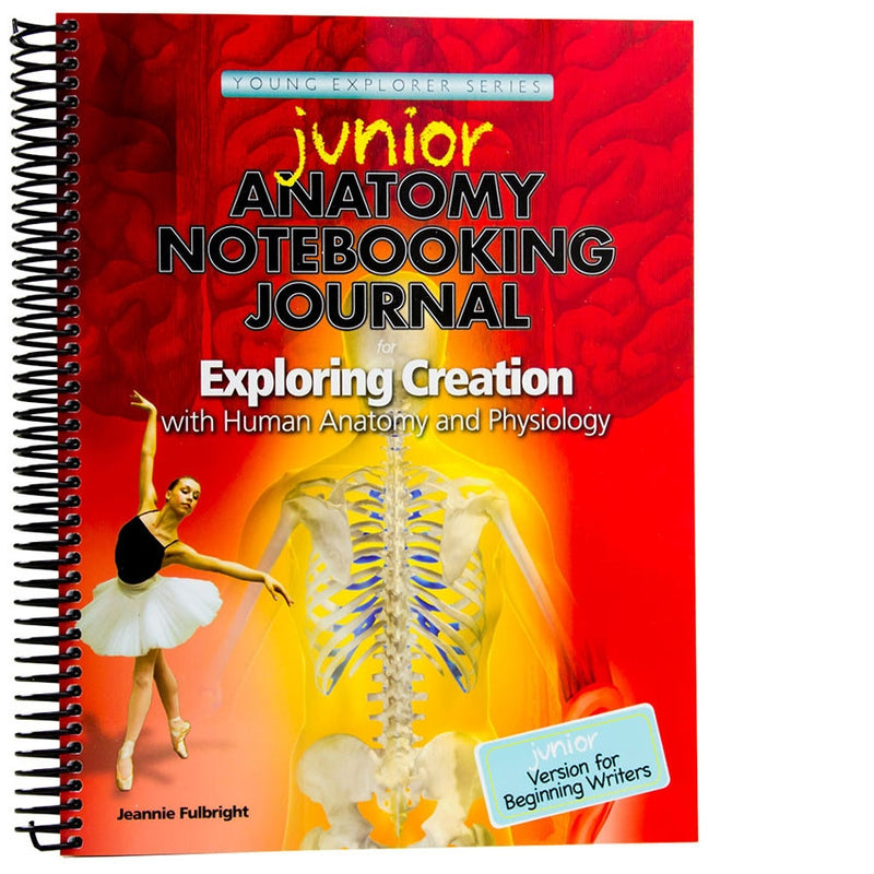 JUNIOR Anatomy Notebooking Journal for younger students or students ...