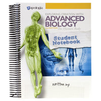 Exploring Creation with The Human Body Student Notebook
