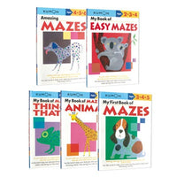 Kumon Mazes - 5-Book set