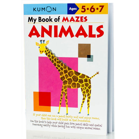 Kumon My Book of Mazes: Animals