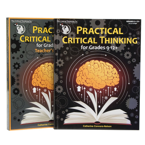 Practical Critical Thinking Grades 9-12 Bundle