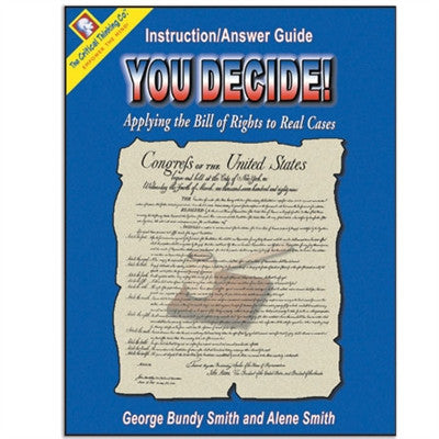 You Decide! - Instruction/Answer Guide