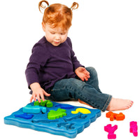 Rubbabu 3D Animal Shape Sorter