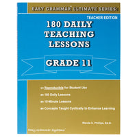 Easy Grammar Ultimate Grade 11 Teacher's Guide