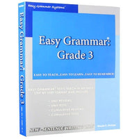 Easy Grammar Grade 3 Teacher's Guide