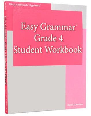 Easy Grammar Grade 4 Workbook