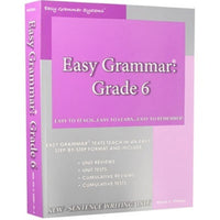 Easy Grammar Grade 6 Teacher's Guide