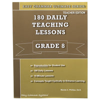 Easy Grammar Ultimate Grade 8 Teacher's Guide