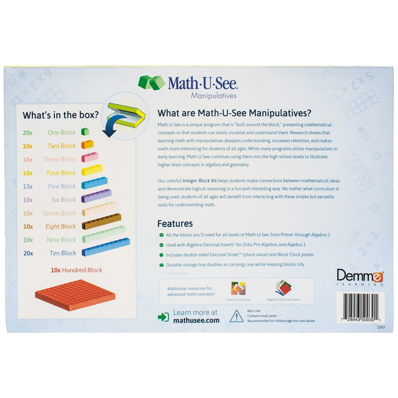 Math U See {MUS} Review | Tackle box, Math and Organizing