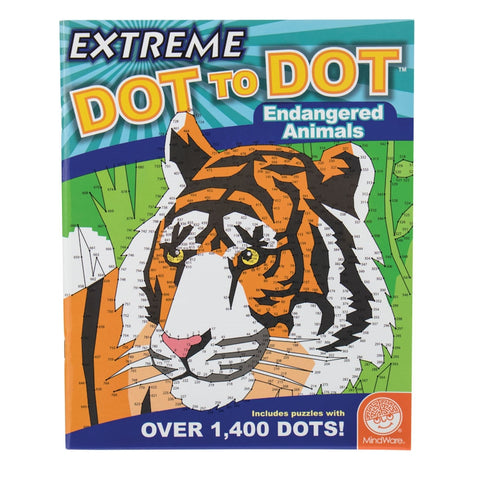 Extreme Dot to Dots - Endangered Animals