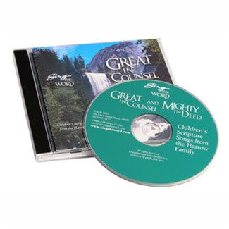 Sing the Word: Great in Counsel & Mighty in Deed CD