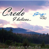 Sing the Word: Credo I Believe CD
