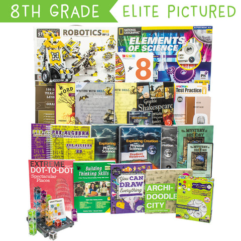 Eighth Grade Curriculum Kit Customizer (Overflow)