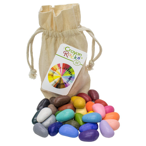 Crayon Rocks - 32 Pieces