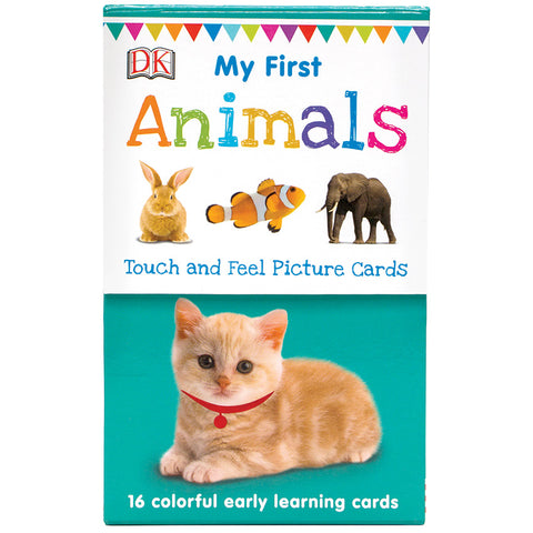 My First Touch and Feel Cards: First Animals