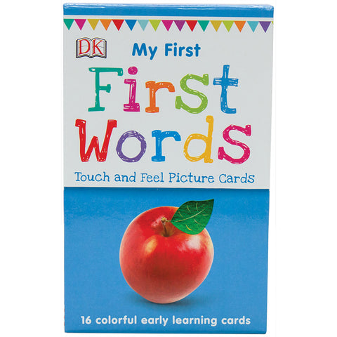 My First Touch and Feel Cards: First Words