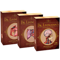 Dr. Livingston's Anatomy Jigsaw Puzzles - Set of 3