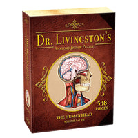 Dr. Livingston's Anatomy Jigsaw Puzzle: The Human Head