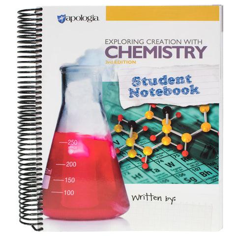 Exploring Creation with Chemistry Student Workbook