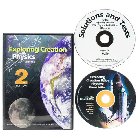 Exploring Creation with Physics - Full Course CD