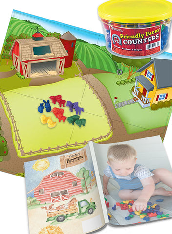 Farmland Math Mat Bundle